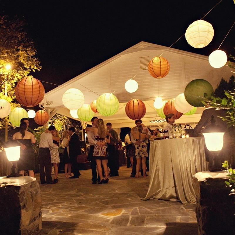 Свадьба дома, как украсить помещение своими руками
