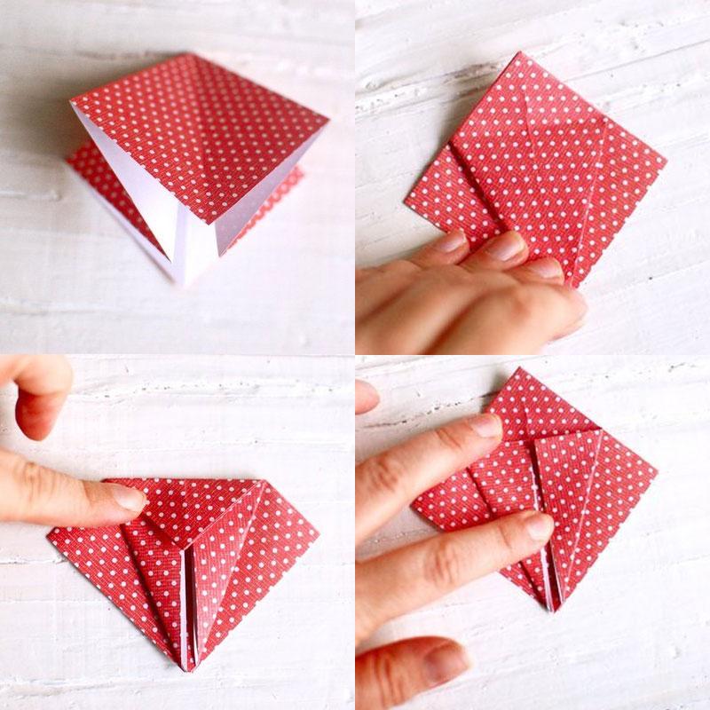 Как сделать птичку оригами фото 241