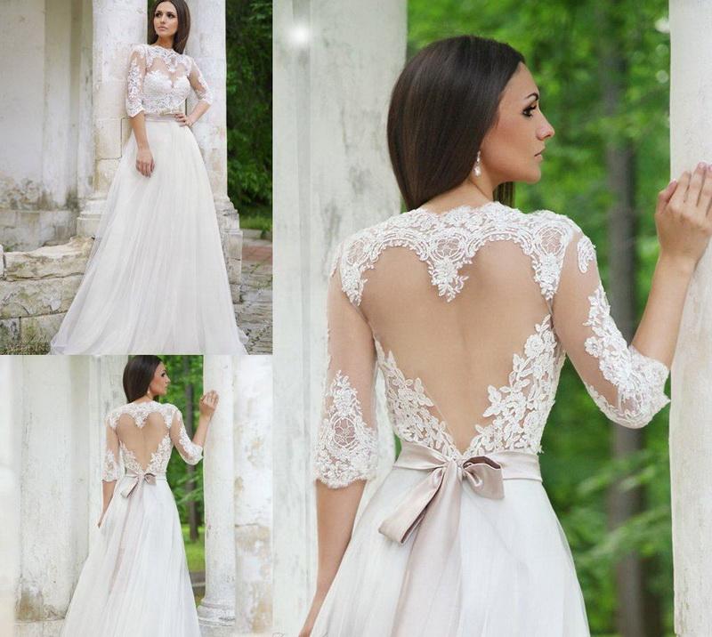 Свадебные платья на большую грудь