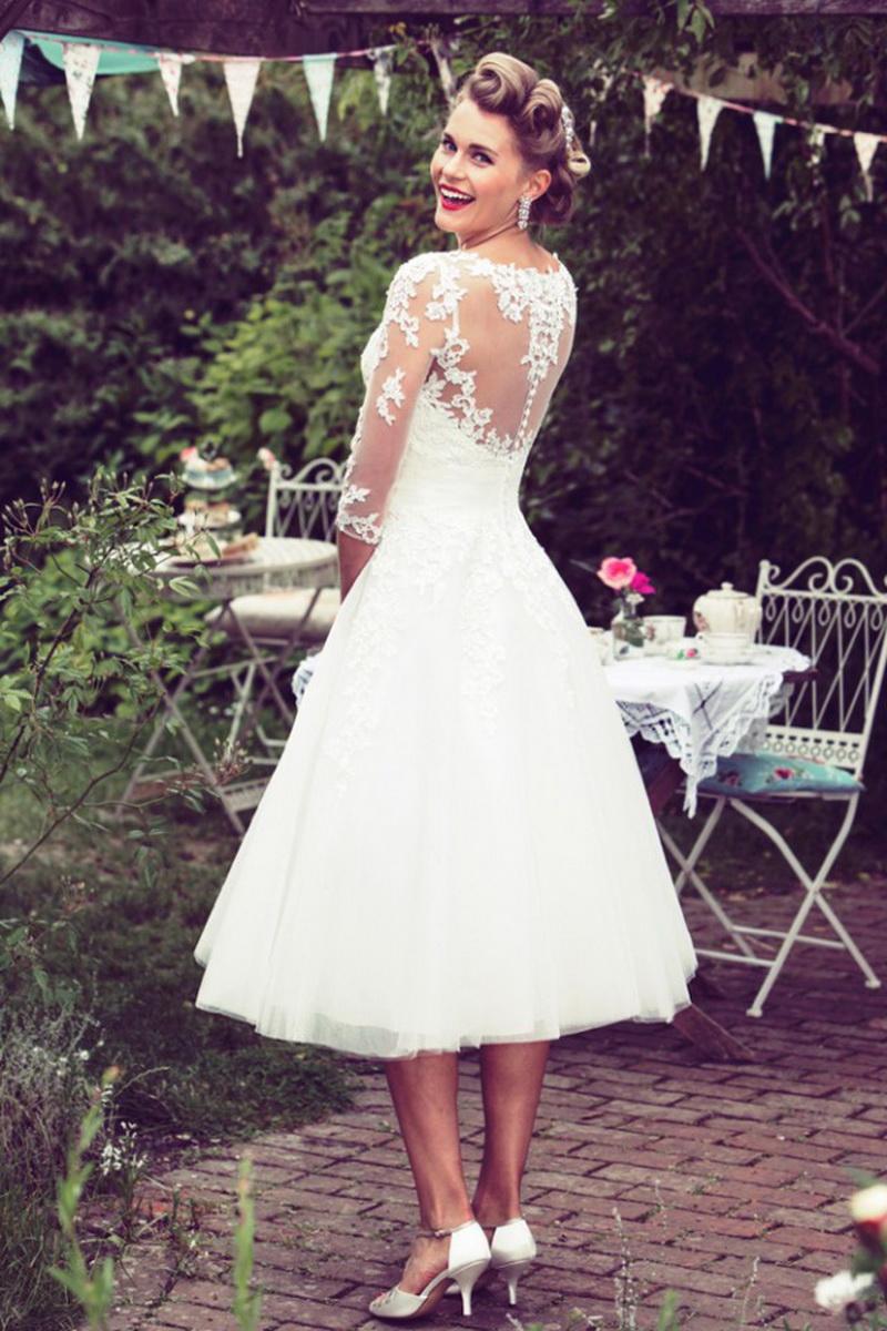 d8aa5b8de633c79 Короткое свадебное платье для маленькой груди