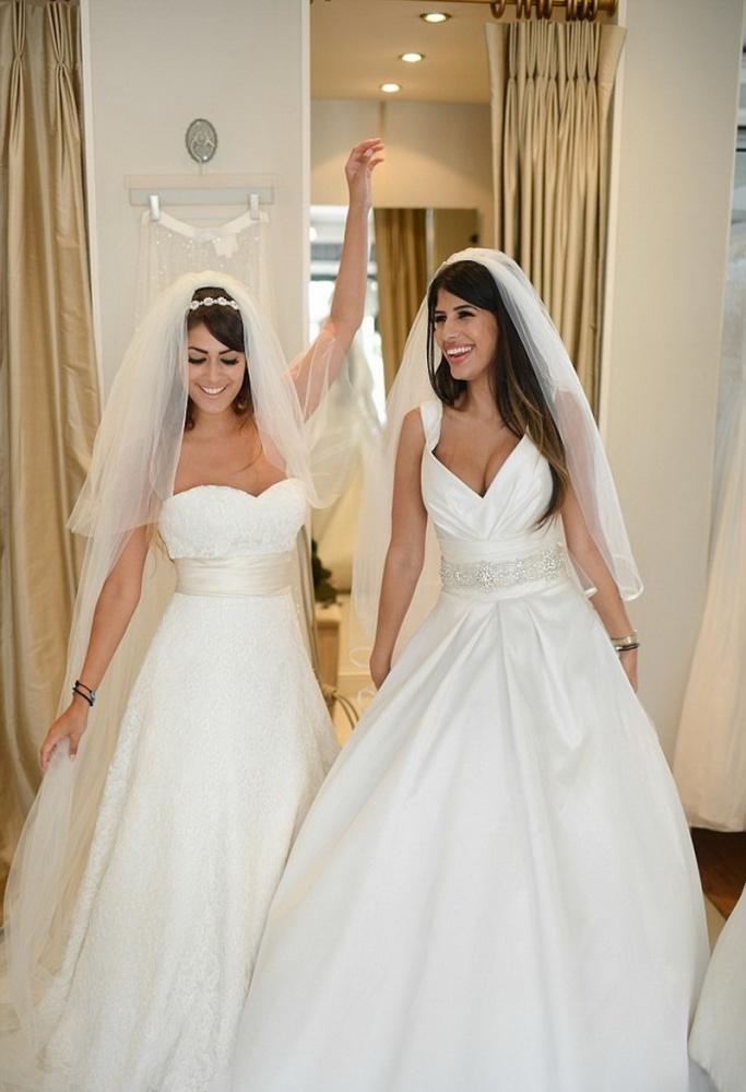 Бюст свадебного платья