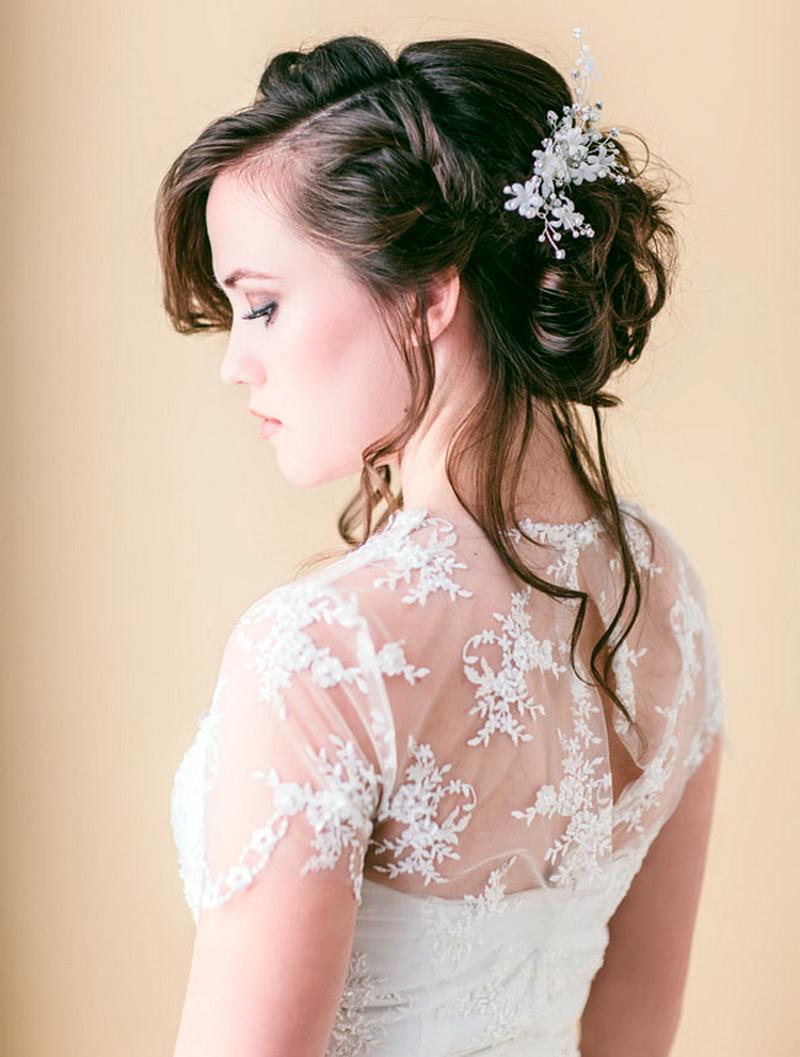 Причёски на свадьбу своими руками инструкция фото 471