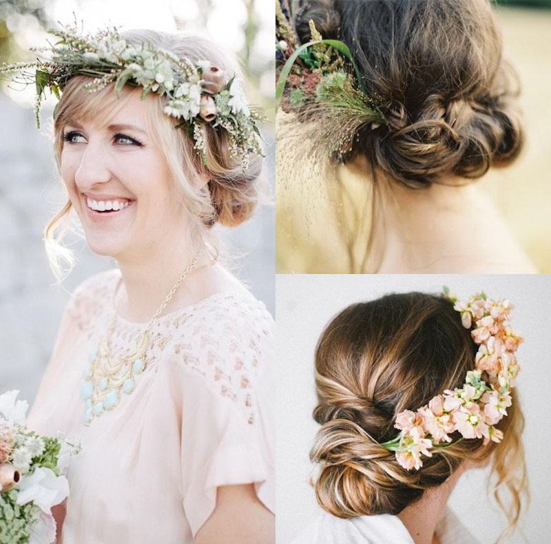 Цветы для волос греческая