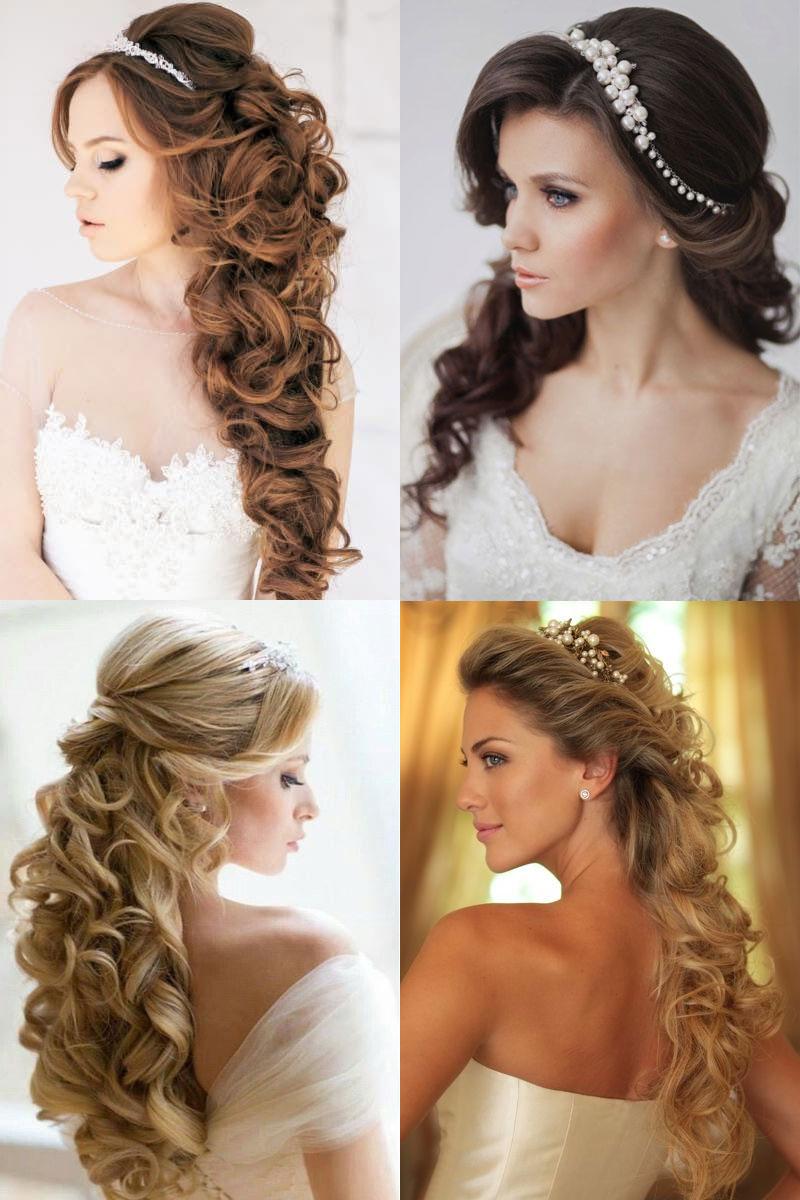 Свадебные причёски с фатой своими руками