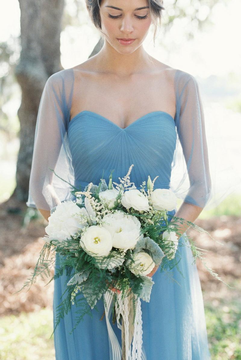 Голубая свадьба, оформление свадьбы в голубом цвете
