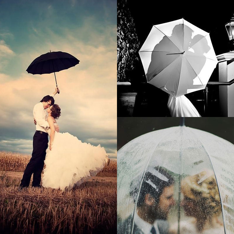 Позы для свадебной фотосессии с зонтом