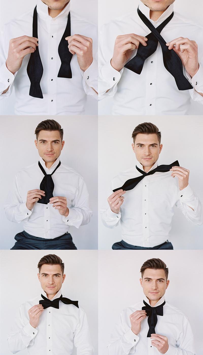 пошаговая инструкция завязывания галстука