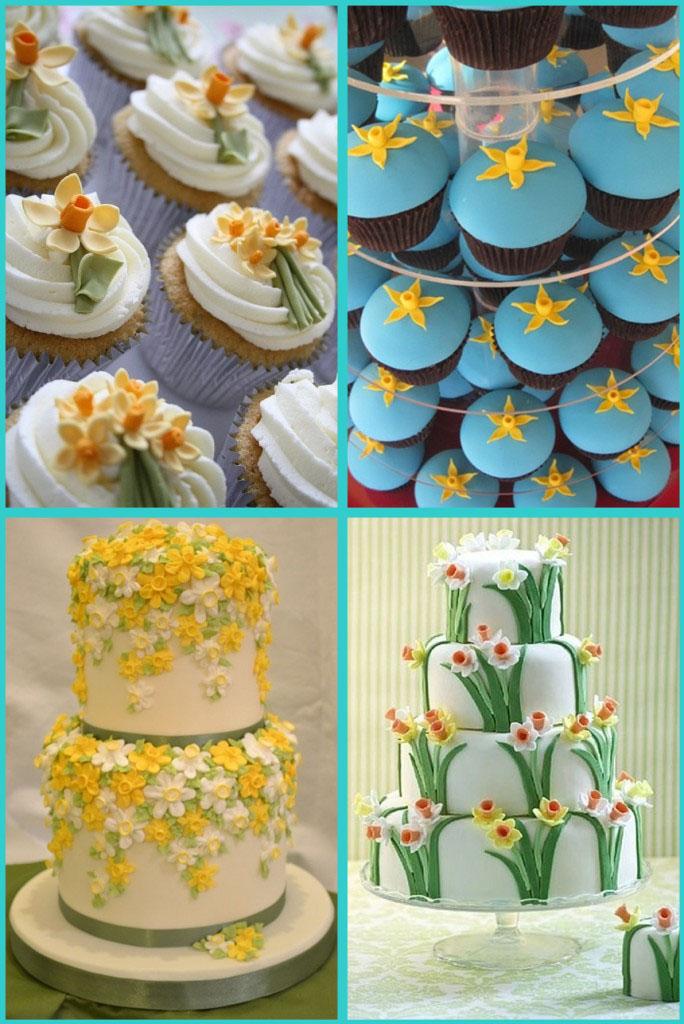 Идеи свадебных тортов фото