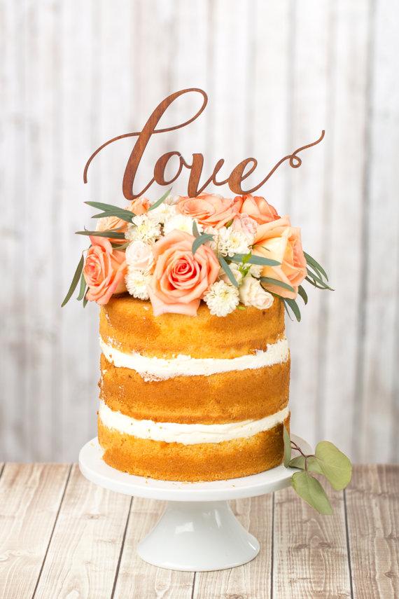 Свадебные торты своими руками