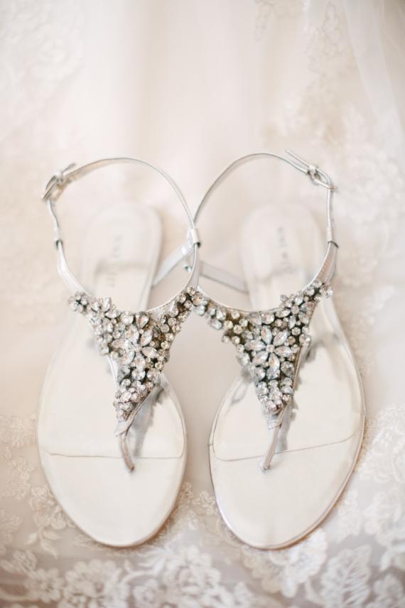 Босоножки свадебные фото