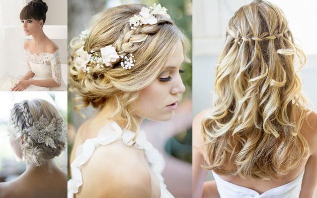прически косы фото на свадьбу