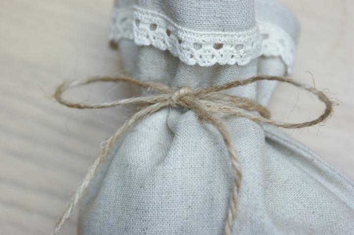 Льняной мешочек своими руками