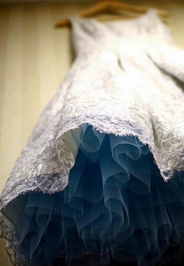 Как сшить подол для свадебного платья