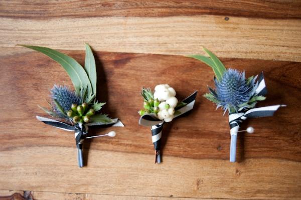 Бутоньерка своими руками для жениха, свидетелей, гостей на свадьбу