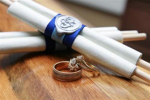 Пригласительные на свадьбу своими руками
