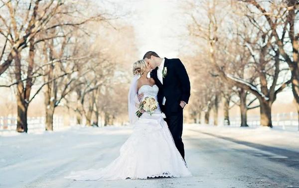 Свадьба зимой идеи фотосессии