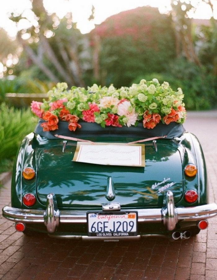Своими руками украсить машину на свадьбу