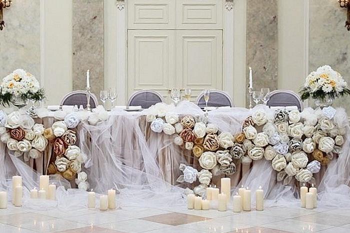 Свадебный зал декор