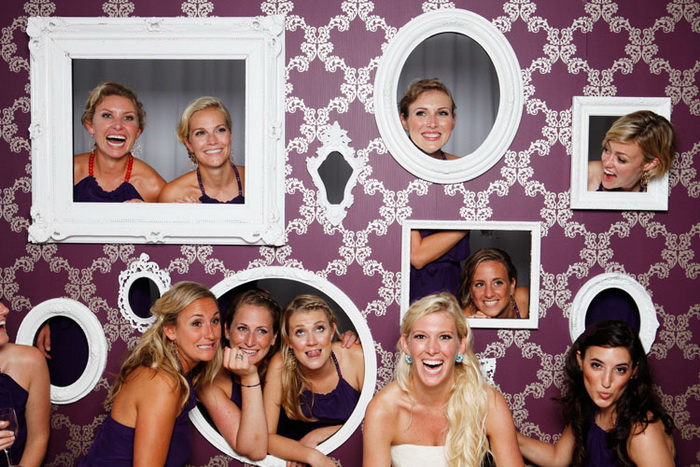 Рамки для фотосессии на свадьбу своими руками
